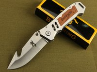 2015 New Browning CUT counter strike Rescue Bowie Knife Camp...