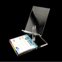 Freies Verschiffen 10pcs neue Art Plexiglas Hochstuhl Form mobilen Handy-Display-Rack zeigen Halter Halterung Ständer
