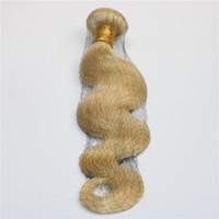 613 Saç Paketler İnsan Saç Dokuma ağartılmış Sarışın Vücut Dalga Brezilyalı Virgin Saç atkıların boyalı ve tarz olabilir.