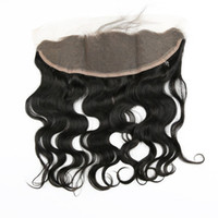 Brazilian hair Lace Frontal Closures Body wave 13x4 Full Lac...