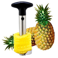 DHL Yaratıcı Paslanmaz Çelik Meyve Ananas Corer Ananas Dilimleyiciler Mutfak Araçları Ananas Soyucu Partisi Bıçak 50 adet