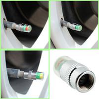 150 Stücke Marke Autozubehör 4 STÜCKE Auto Auto Reifendruckkontrolle Ventilkappen Sensor Anzeige Eye Alert Diagnostic Tools Kit ZB0271
