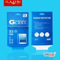 100pcs venta al por mayor universal de alta calidad al por menor 9H caja de embalaje de protector de vidrio templado para iPad mini / iPad 2 3 4 8 pulgadas / 10 pulgadas