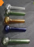 Accessori liberi del narghilé del commercio all'ingrosso di trasporto - POT di cottura diritto di vetro multicolore di 60MM, montaggi del narghilé