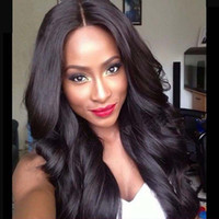 Peruvian Lace Frontal Wig Body Wave Glueless Full Lace Human...