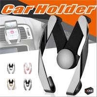 Venda quente Universal Car Vent Ar Titular Outlet Ajustável Suporte de Montagem Em Telefone Berço Para O Telefone Móvel Com pacote de Varejo