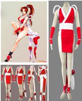 KOF Mai Shiranui COSPLAY abbigliamento abbigliamento personalizzato Street Fighter campione costumi sexy