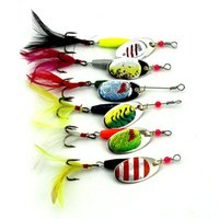 18. 2cm 7. 71g Spoon Metal Fishing Lures Set Spinner Baits Cra...