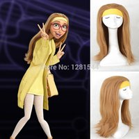 costume accessories cosplay wig costume wig free size free shipping big hero 6 honey lemon blonde full hair styled cosplay wig women party cos wig - Halloween Costumes With Blonde Wig