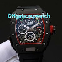 42MM Carbon fibre black case fashion luxury 50 watch automat...
