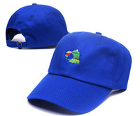 Frog Tea Snapback Kermit None Of My business Dad Hat Lerbon ...