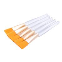 Kozmetik Fırça Yüz Maskesi Fırça Seti Plastik Saplı Yüz Sıvı Toz Profesyonel Kozmetik Makyaj Araçları Kitleri 20 adet (Os0703)