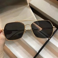 0218 Sunglasses Luxury Fashion Designer Square Frame Siamese...