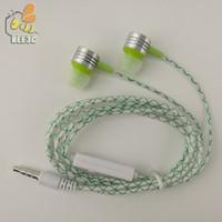 Cobwebbing Reticulate Feine Linien Kopfhörer mit mic Metallkopf Hörmuschel Noise Cancelling Kopfhörer mit Mikrofon 5 Farbe 500PS / lot