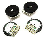 1K 14x1mm B102 Duplex Worm växellåda Justera regleringsmotstånd 5 fot dubbel potentiometer