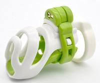 Cinto de Castidade masculino Adulto Gaiola Galo Dispositivos de Castidade com 4 Anéis Do Pénis Para Os Homens SM Anel Peniano BDSM Sex Toys Produto Do Sexo
