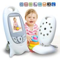 2.0 G Dijital Kablosuz Bebek Bakıcı Bebek Monitörü Monitör Bakım Cihazı Iki yönlü Interkom Sıcaklık Ekran Müzik Çalar Aile Gerekir