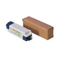 Светодиодный драйвер SANPU SMPS Светодиодный драйвер 12V 24V постоянного тока 15 Вт пластиковый IP44 внутренний Использование постоянное напряжение AC-DC трансформатор для светодиодных лент 12W