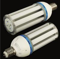 Супер яркий светодиодный свет кукурузы 30 Вт 40 Вт 50 Вт 60 Вт светодиодные лампы E27 E40 Освещение кукурузы Теплый / Холодный белый AC85-265V Завод Питания