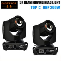 Für Verkaufsrekord 2XLOT 200W Bühnenlichtstrahl Moving Head Spot-Licht 5R importierte Lampe KTV DJ Freeshipping 350W High Power DMX 16CH