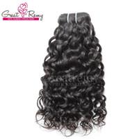Big Promotion! Jungfrau Brasilianisches Remy Hair Nass Wellenförmige Wasserwelle Brasilianisches Haar Tiefgewellig Great Remy Neue Ankunft Nerz Human Haare