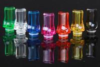 Punta piatta Plastic Plastic 510 Drip Tips Colori ricchi Drip Suggerimento Ego 510 Suggerimenti per atomizzatori per CE4 CE5 DCT EE2 CE6 VIVI Nova Rad E cig serbatoi e sigarette