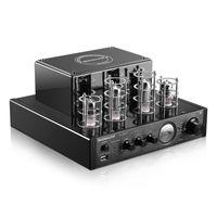 FREESHIPING NOBSOUND MS-10DMKII HiFi 2.0 Home Audio Audio Bluetooth Amplificatore Amplificatore Ingresso USB / BT / AUX Amplificatore per cuffie 25W + 25W 6P1 * 2 + 6N1 * 2 AC220V