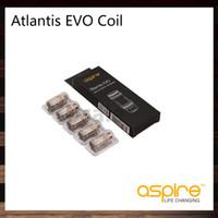 Aspire Atlantis Evo Coils 0.4OHM 0,5OMM Замена Clapton Clapton Head для Atlantis Evo Tank 100% Оригинал