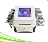 6 기능 Lipolaser 슬리밍 뷰티 머신 lipolaser 슬리밍 체중 감량 지방 흡입 차가운 lipo 레이저 패드 미용 기계