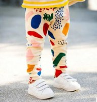 In stock , 4pcs lot, Bobo choses Baby girls pants kids childr...