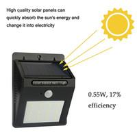 12 led solar light outdoor powered wireless pir motion sensor led solar lamp garden waterproof landscape yard lawn wall lamp