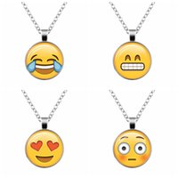 2016 Newest 13 Kinds of QQ Expression Emoji Time Gem Pendant...