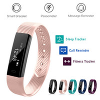 ID115 Smart Bracelets Fitness Tracker Smartband Tracking Ste...