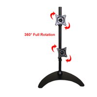 "13- 24"" Up and Down Dual Screen LCD Monitor Holder Full ..."