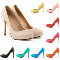 Chaussure Femme Womens Pu Leather High Heel Pointed Toe Cors...