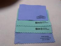 사용자 정의 로고 폴란드어 천으로 실버 황금 보석 청소기 블루 핑크 그린 화이트 블랙 퍼플 색상 옵션 최고의 품질
