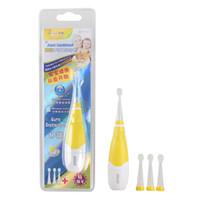 جديد seago المهنية رعاية الأسنان للماء الاطفال ذكي فرشاة الأسنان الكهربائية SG-902 الطفل سونيك فرشاة الأسنان الكهربائية مع 3 رؤساء فرشاة