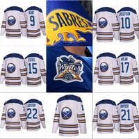 2018 Hiver Classique Buffalo Sabres Jersey 9 Evander Kane 10 Jacob Josefson 17 Nolan 21 Kyle Okposo 22 Chandails De Hockey Johan Larsson