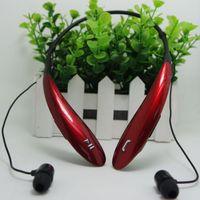 iPhone HTC Ultra yepyeni HBS800 Siyah için HBS800 kulaklıklar Stereo Spor Bluetooth Kulaklık Kablosuz Kulaklık Gerdanlık Stil Kulaklık