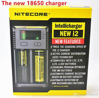 Neues Nitecore I2 1000mAh-Ladegerät mit maximaler Ausgangsleistung für 18650 14500 26650 Li-Ion / IMR / LiFePO4-Akkus Authentic