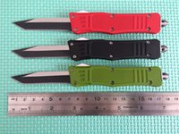 Miglior prezzo! Coltello da collezione per coltelli da caccia da campeggio Mic-tech 616 Single Tanto Blade Egde Scarab Nuovo in confezione originale