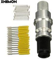 Xnemon صلابة عالية ل graphtec CB09 خيال النقش حامل بليد + 15 قطع شفرات الفينيل القاطع الراسمة 60 درجة رولان القاطع