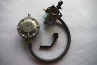 Honda GX160 168F 2500 2KW jeneratör benzin liquefield petro 2.5 ila 3 KW jeneratör LPG Benzin çift yakıtlı dönüşüm kiti