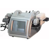 4 in 1 40K 초음파 지방 흡입 초음파 Cavitation 슬리밍 기계 650nm lipo 레이저 트리 폴라 6 퍼 폴리 RF 무선 주파수 캐비테이션
