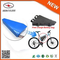 1500W Elektrikli Bisiklet Takımı 52V 20Ah Lityum İyon Pil Paketi Üçgen Yüksek Kalite