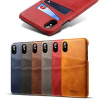 Leather Wallet Case For iphone 8 Slim Card Holder for Cards ...