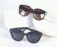 Neue Sonnenbrille CL41755 Gafas de Sol Sonnenbrille Möglichkeiten Ellipse Box Sonnenbrille Männer und Frauen Sonnenbrille Farbe Film Oculos Marke