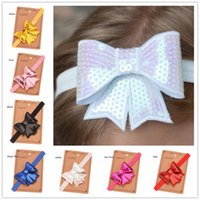 24PCS Baby Girls Bowknot Headbands Sequined Hair Bows Glitte...