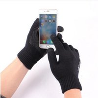 Luxury Anti- skid Capacity Touch Screen Knitted Gloves Thicke...