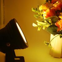 Edison2011 10W 12V sous-marine LED LED LED LED Fontaine Lampe de piscine Simple couleur RVB Livraison gratuite imperméable